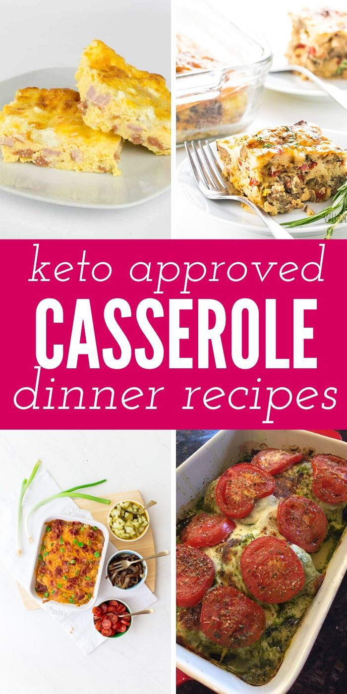 You need to sink your teeth into these insanely good Keto Casseroles! They will please your taste buds and fill your belly too. #keto #casseroles #easy #dinner #breagettingfit