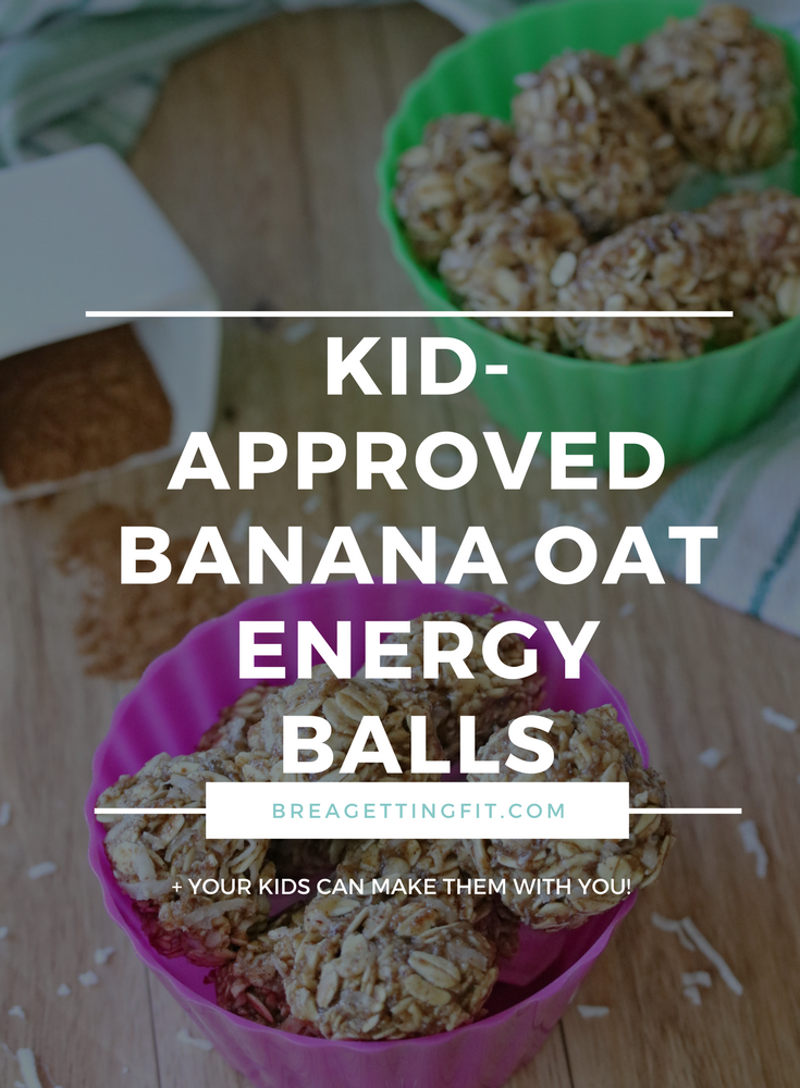 Kid-Approved Banana Oat Energy Balls