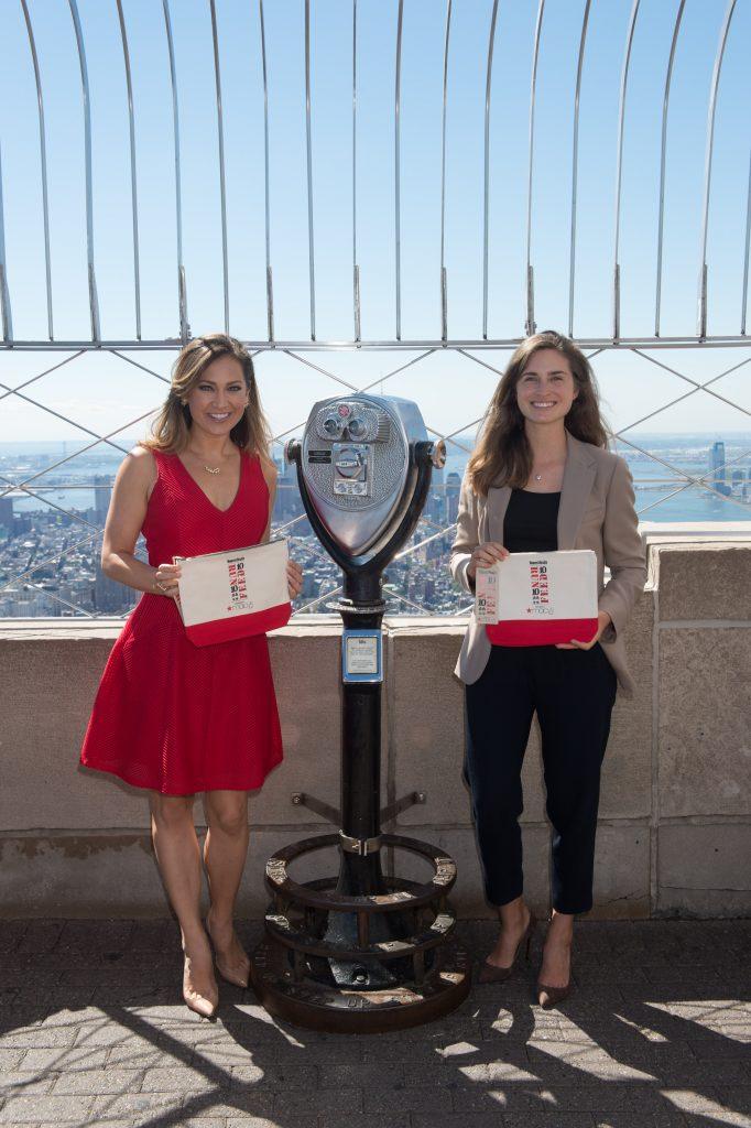 FEED Foundation Founder Lauren Bush Lauren Visits The Empire State Building