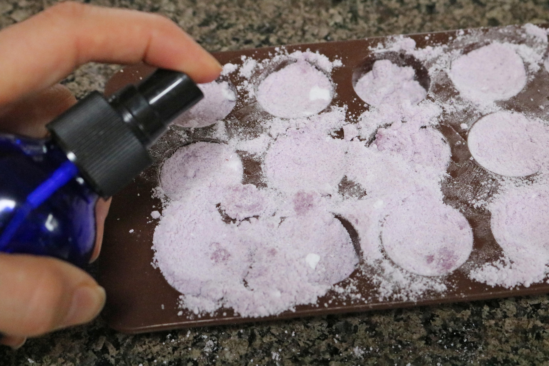 DIY Lavender Sage Bath Bombs