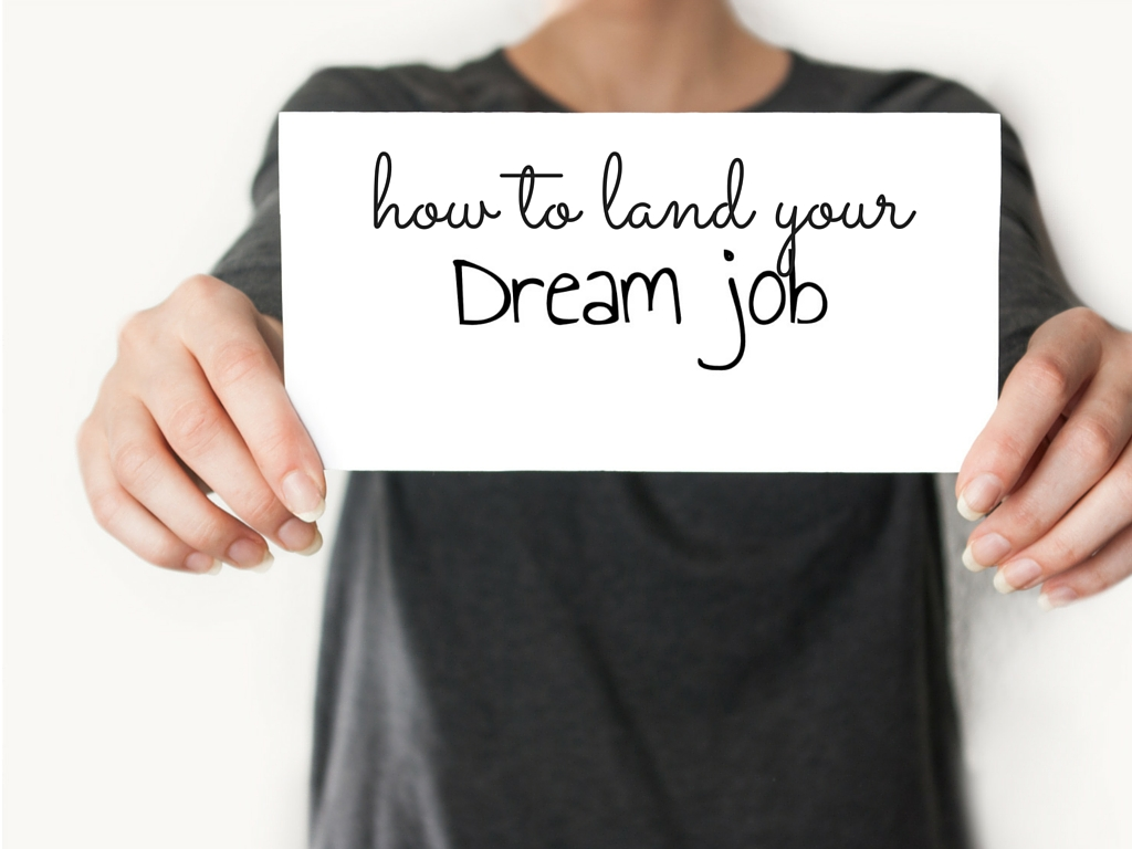 Looking for your dream job? I can help!