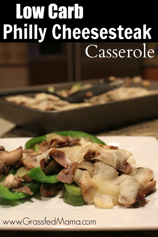 Low Carb Philly Cheesesteak Casserole Trim Healthy Mama Recipes