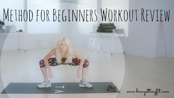 Tracy Anderson beginner workout - Method For Beginners Workout Review