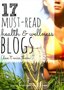 Must-Read Health & Wellness Blogs