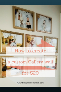 So you want to create a gallery wall...but it's a lot of work. Find out how to do it quickly and cheaply (and have it look professional!