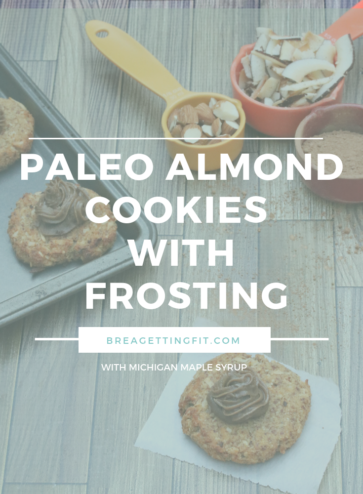 Paleo Almond Cookies with Frosting