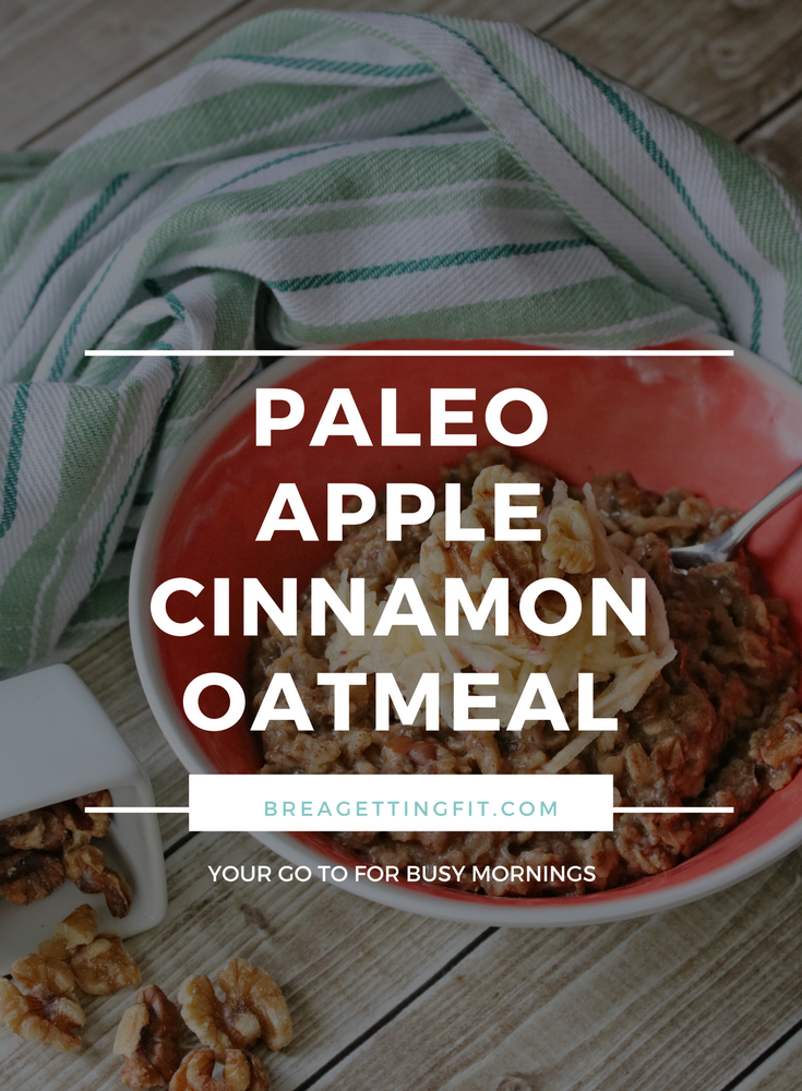 Paleo Apple Cinnamon Oatmeal Recipe