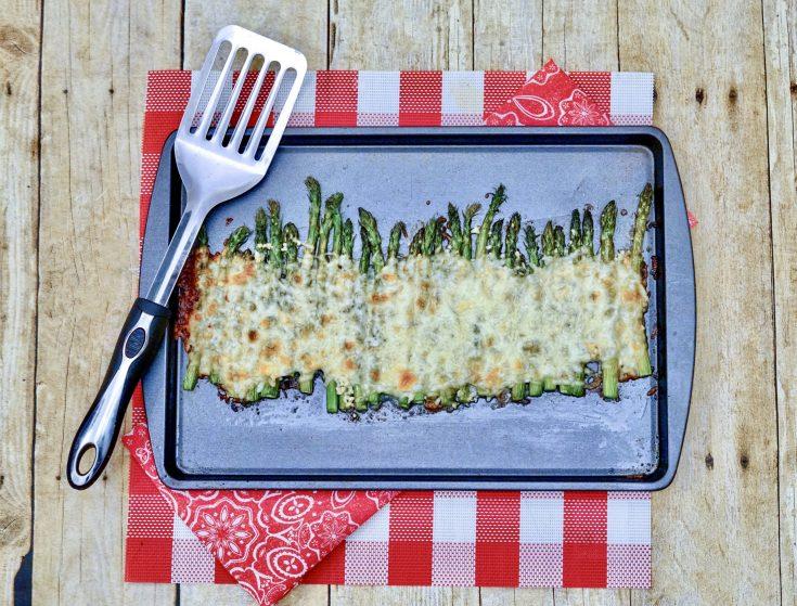 Cheesy Aparagus