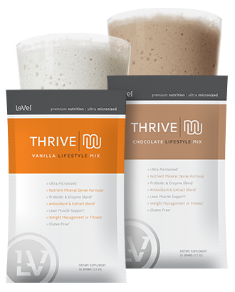 Lifestyle mix from Thrive - to use with the Thrive patch