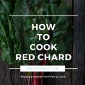 Red Chard Recipe