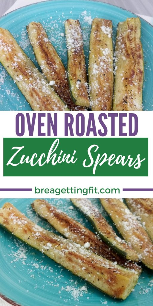 Oven Roasted Zucchini Spears Recipe