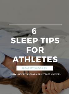 Sleep Tips for Athletes