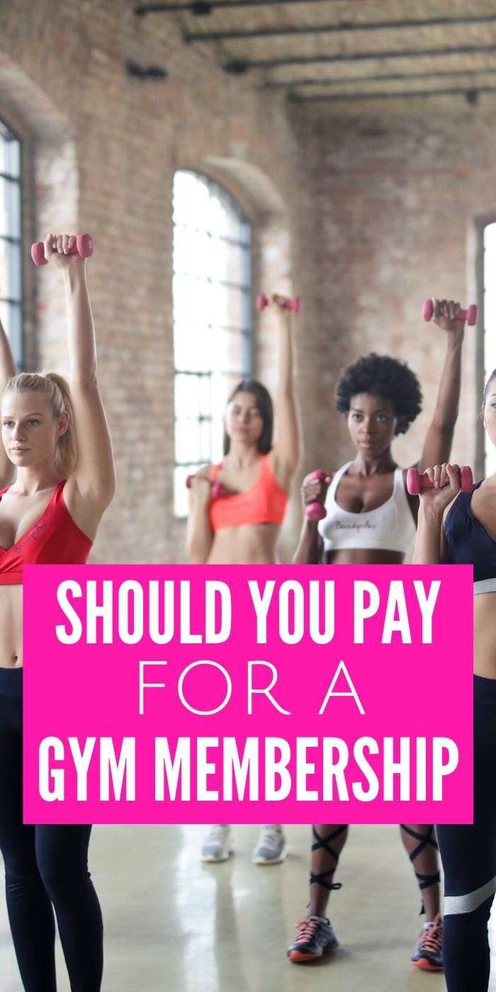 Have you been pondering if you Should You Pay for a Gym Membership or Save Your Money? Many of us have been there and we can help you decide! #gym #membership #exercise #workingout #body #health #breagettingfit