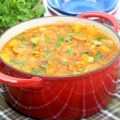 soup in dutch oven