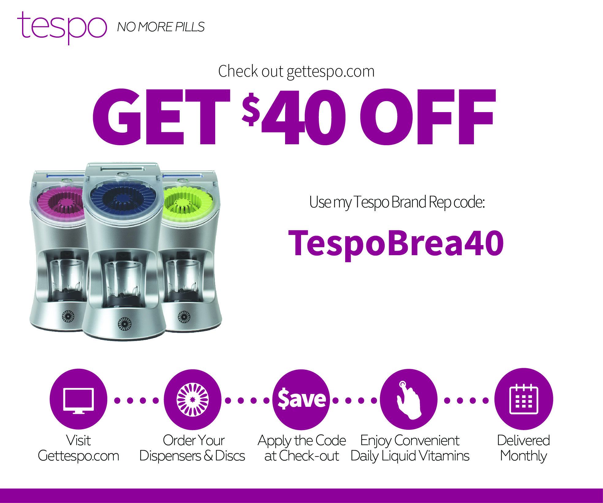 TESPO discount