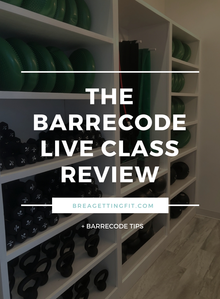 The BarreCode Live Class Review