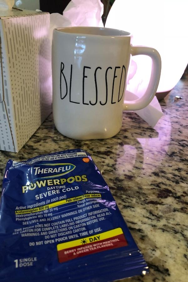 Theraflu PowerPods to beat the flu