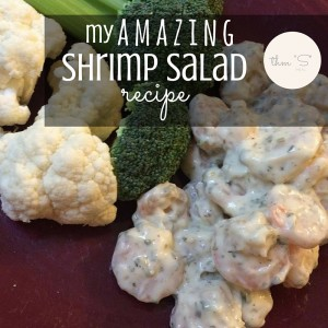 Try this killer shrimp salad recipe! Fast & easy to prepare and totally delicious!