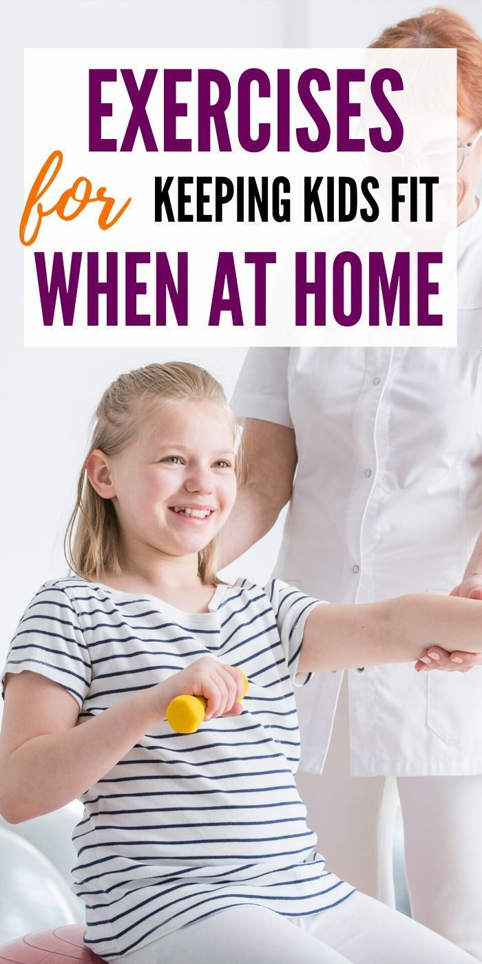 Learn these simple and helpful ways to keep kids fit while staying at home. Staying at home doesn't mean no more exercise! Your kids will enjoy these ideas. #exercise #activities #kids #ideas #helpful #breagettingfit
