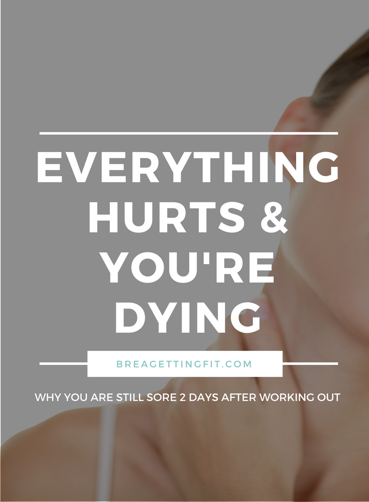 """Why Do We Get Post Workout (""""Second Day"""") Soreness?"""