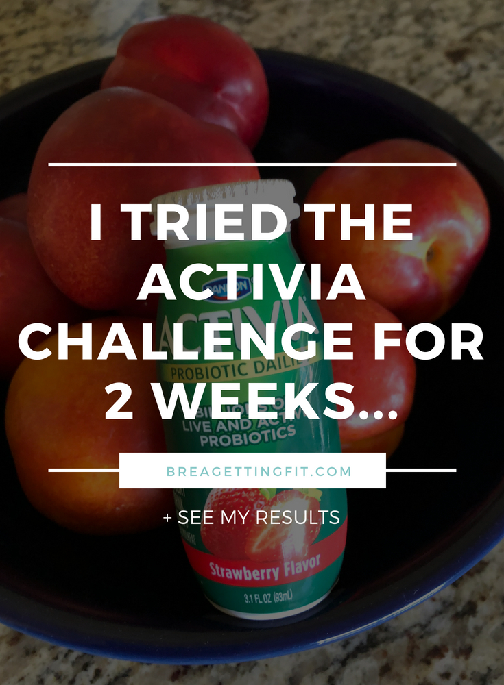 I Tried the Activia Challenge for 2 Weeks...