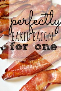 Tired of getting bacon grease all over you kitchen in the morning? Try using your oven to make baked bacon!