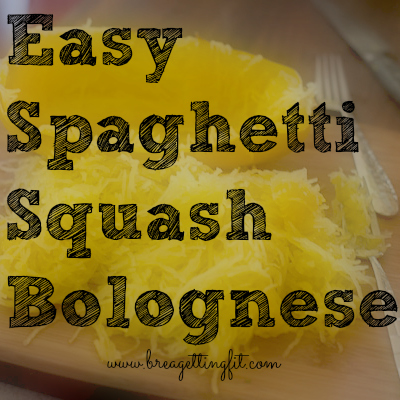 Have you ever had guilt-free noodles? You're about to with this spaghetti squash bolognese!