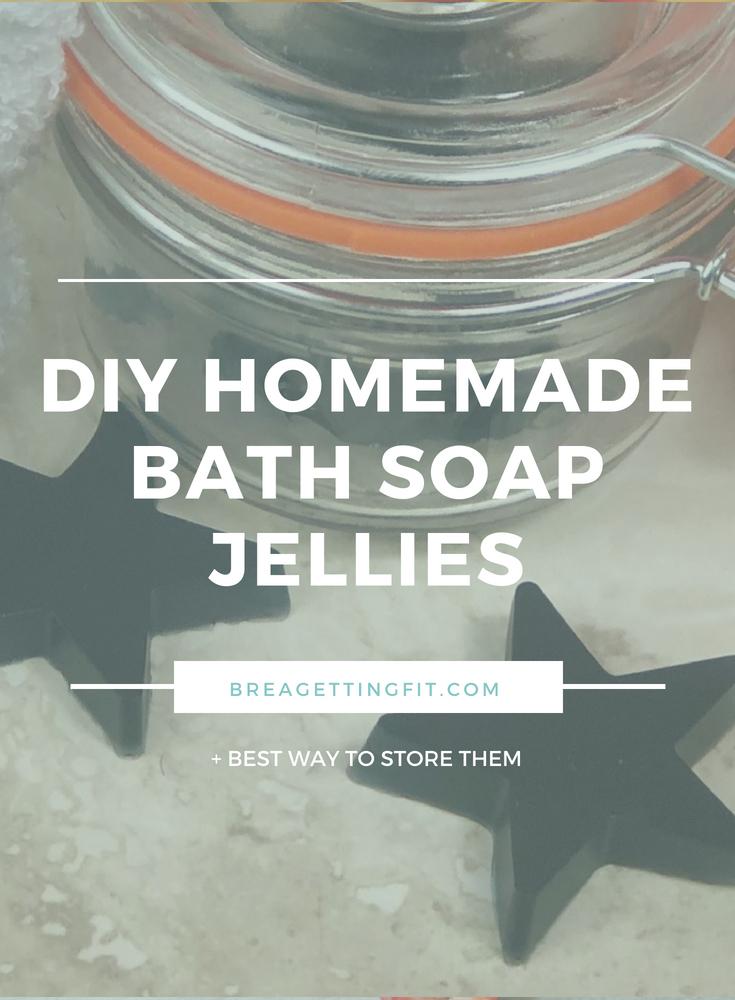 DIY Homemade Bath Soap Jellies