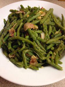 Bacon Garlic Green Beans Trim Healthy Mama Recipes