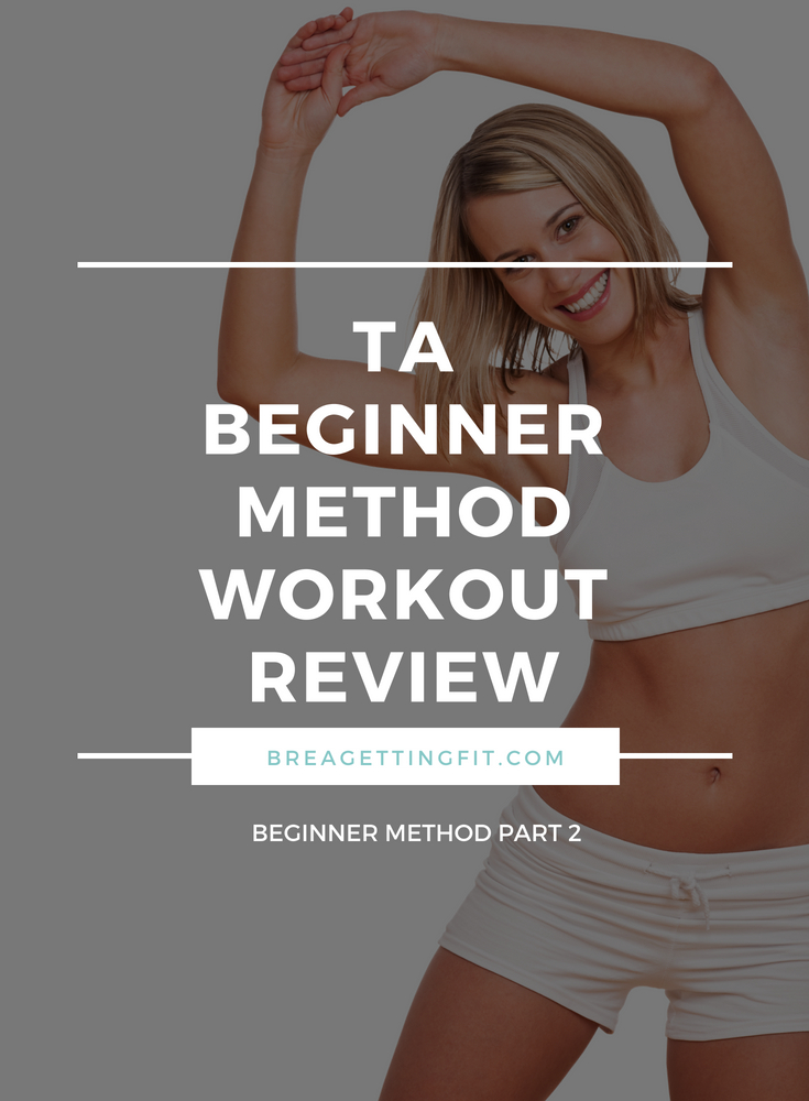 Tracy Anderson's Beginner Method Workout Review