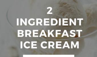 breakfast ice cream