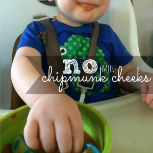 Are you tired of your baby stuffing their cheeks at meal time? Try a new texture from GerberChewU! #Ad