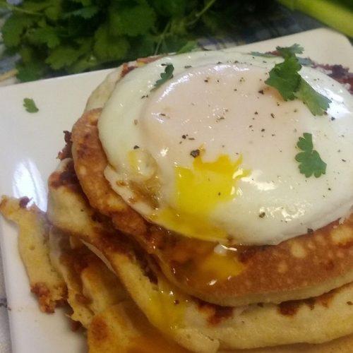 chorizo pancakes recipe