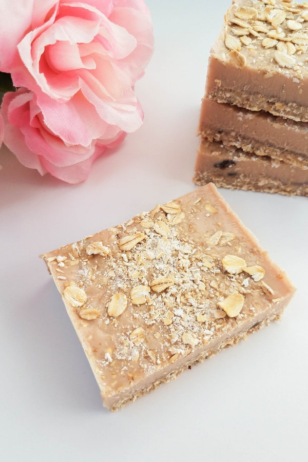 cinnamon oatmeal soap bar