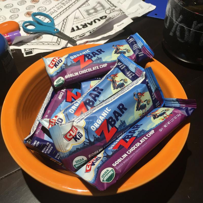 CLIF kid Z-bar snack station