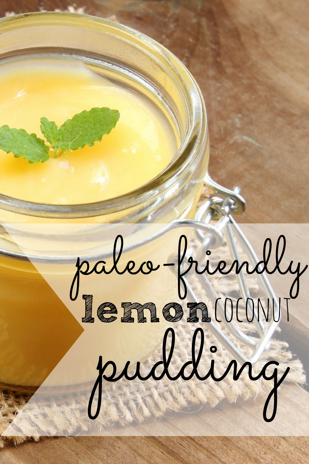 Looking for something quick and sweet? Try this super easy lemon coconut pudding recipe!