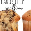 deliciously easy carob chip muffins are healthy AND kid approved!