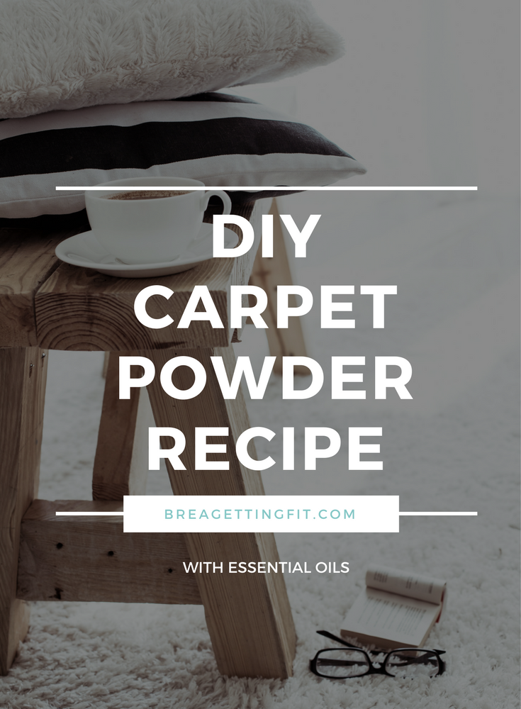DIY Deodorizing Carpet Powder With Essential Oils