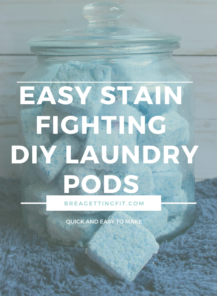 Easy Stain Fighting DIY Laundry Pods