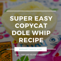 Copycat Single Serve Dole Whip Recipe