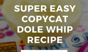 Copycat Single Serve Dole Whip Recipe