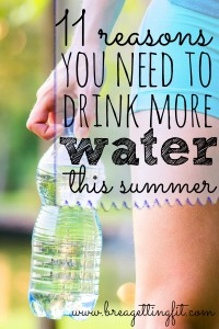 It's HOT. Find out why you should probably be making an effort to drink more water.