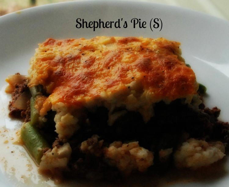My Trim Healthy Mama St. Patrick's Day Recipe Round Up - Shepard's pie