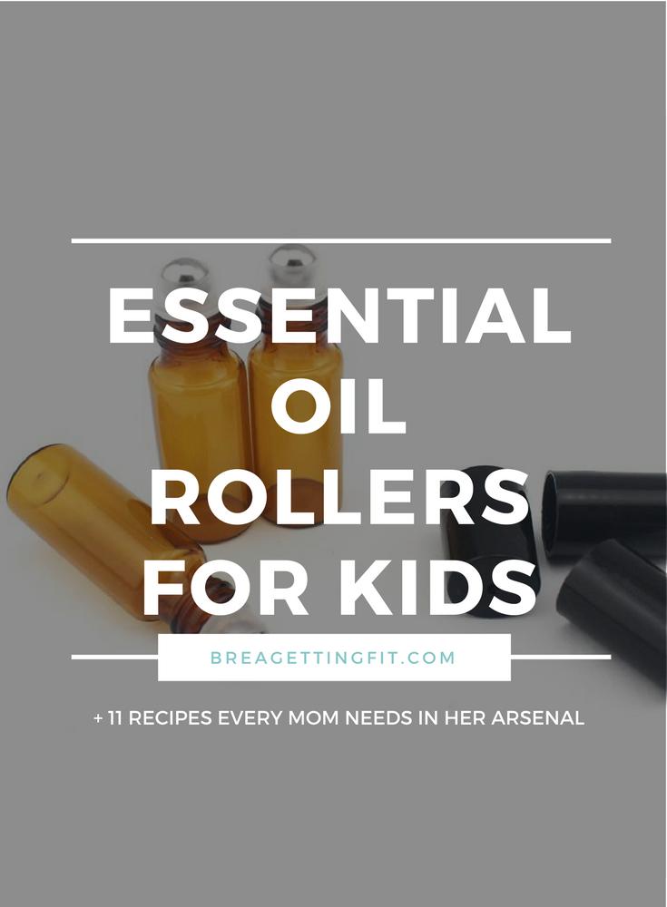 Essential Oil Roller Bottle Blends For Kids