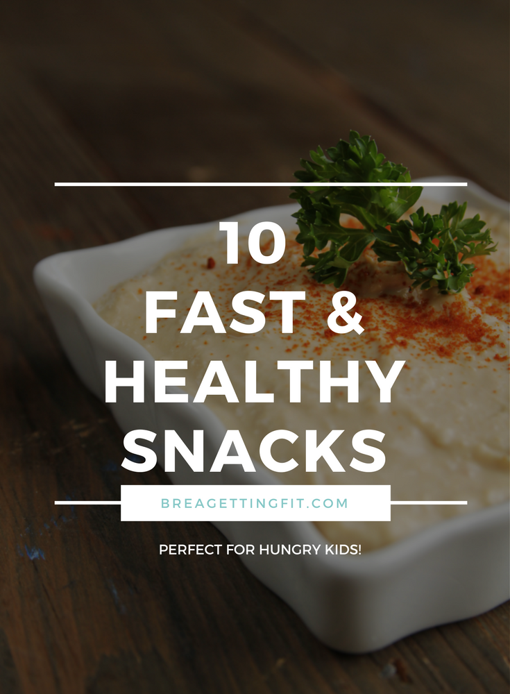 fast healthy snacks