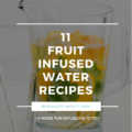 Ways to Drink More Water + Fruit Infused Water