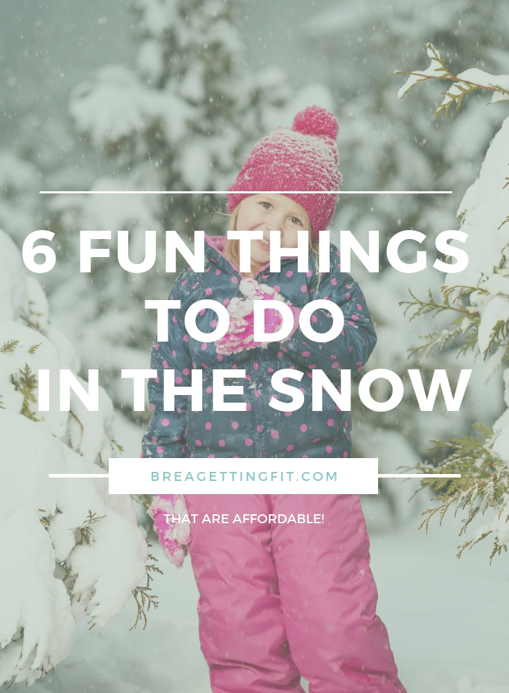 Fun Things To Do In The Snow