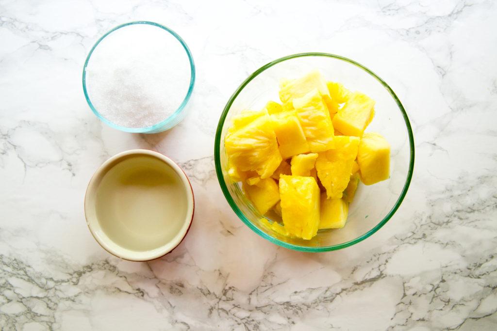 3-Ingredient Pineapple Sorbet
