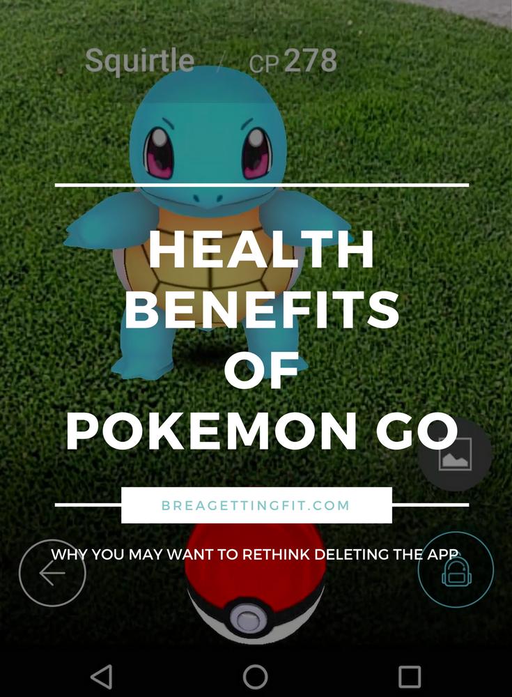 health benefits of pokemon go