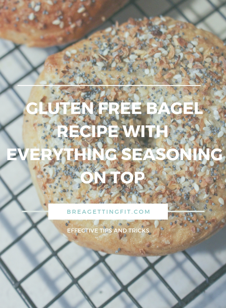 Easy Gluten Free Bagel Recipe With Everything Seasoning On Top